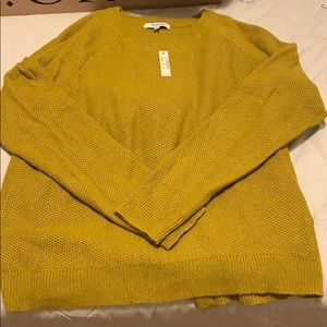 NWT Madewell Province Cross Back Sweater